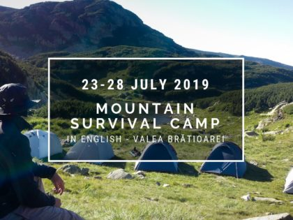 2019 Mountain Survival Camp – ENGLISH