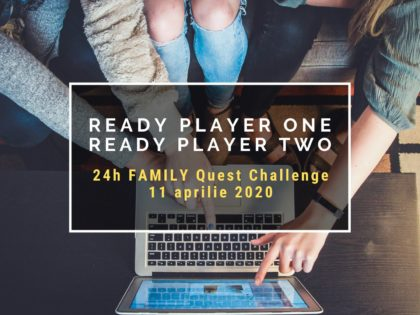 2020 Ready Player One, Ready Player Two – 24h FAMILY Quest Challenge